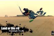 Vidéo Kitemountainboard / Landkite : Land or Die 6