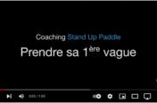 Prendre sa 1ère Vague en Stand up Paddle