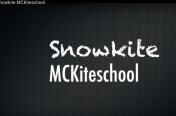 Snowkite Mckiteschool by Axel Massart