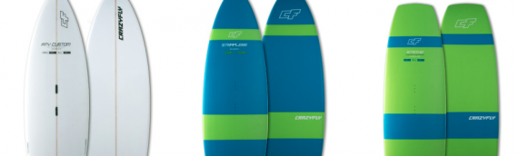 Crazyfly Surf Board 2017
