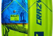 La planche de Wakeboard Crazyfly Bullet en action