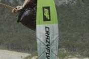 La planche de Wakeboard Crazyfly Toxic en action