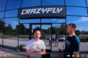 Vidéos de la visite de l'usine CrazyFly